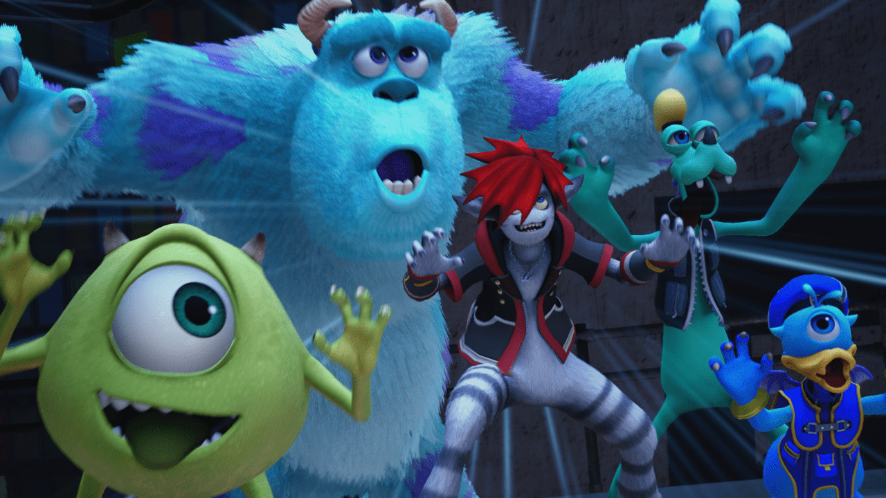 KHIII Monsters and Co.
