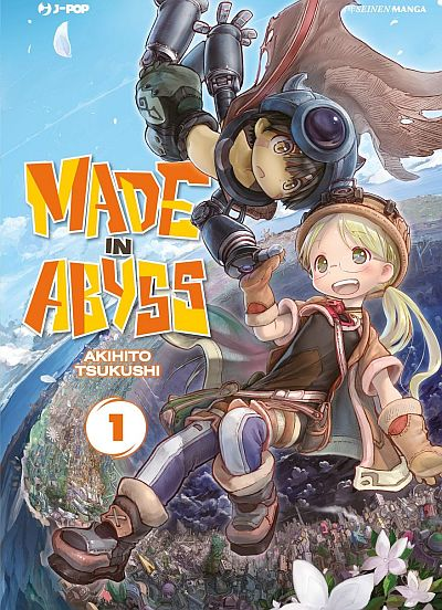 Made in Abyss Book Cover