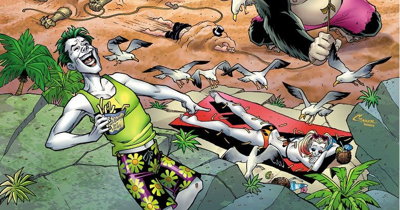 DC Beach Blanket Bad Guys Special # 1