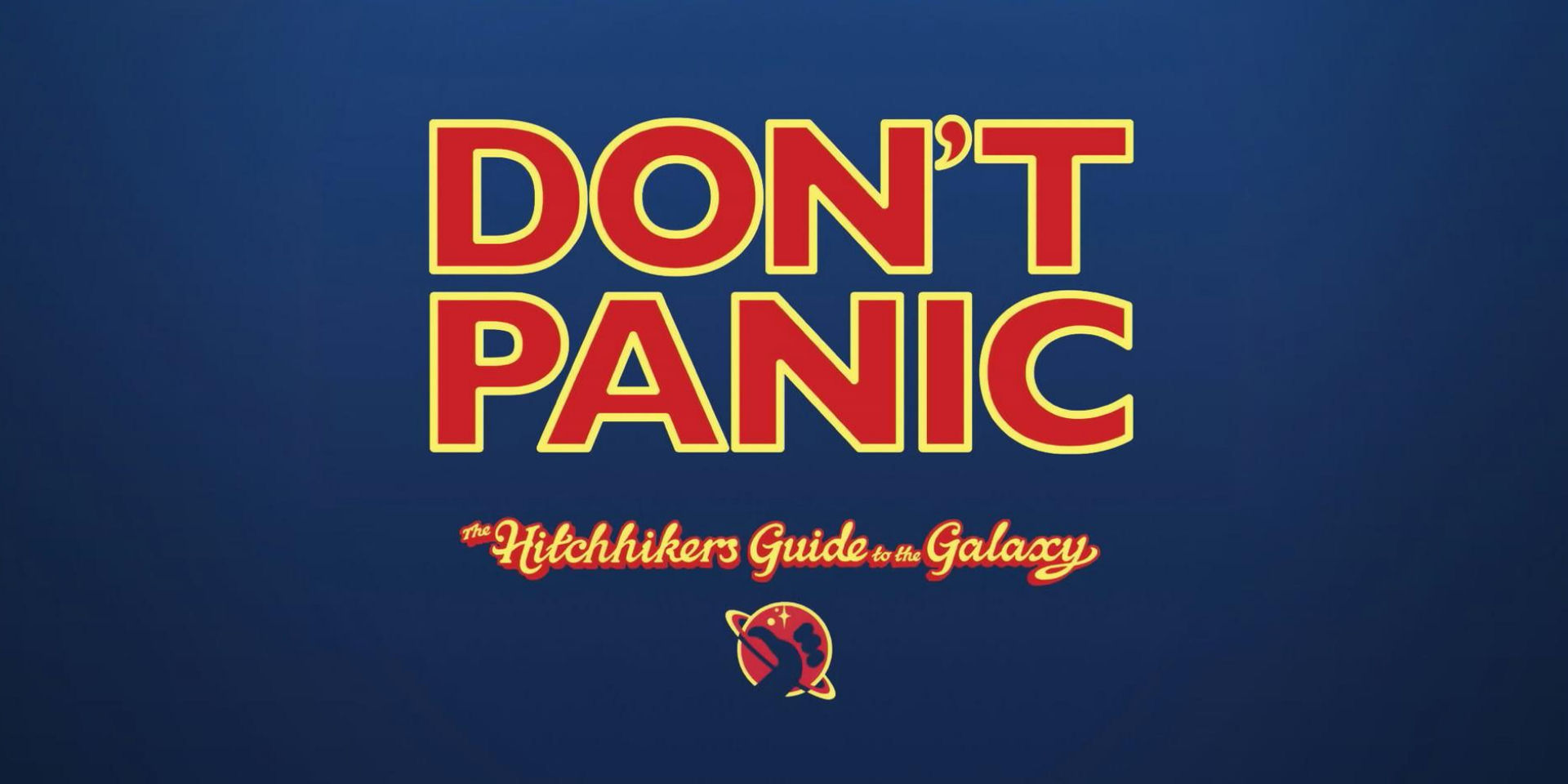 Don't Panic Towel Day 2018