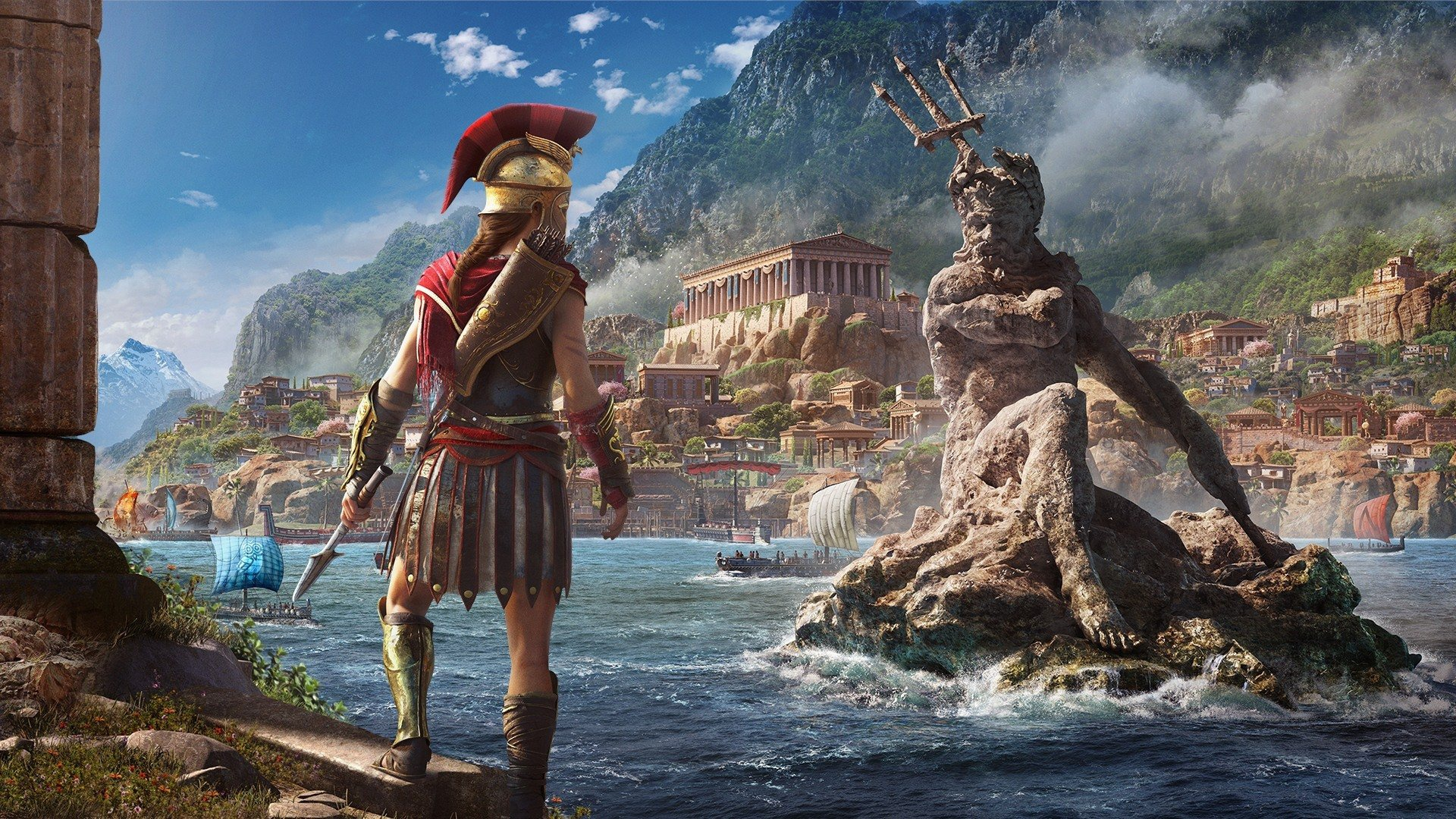 Un artwork di Assassin's Creed Odyssey