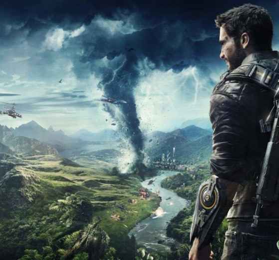 il protagonista Nico Rodriguez in Just Cause 4