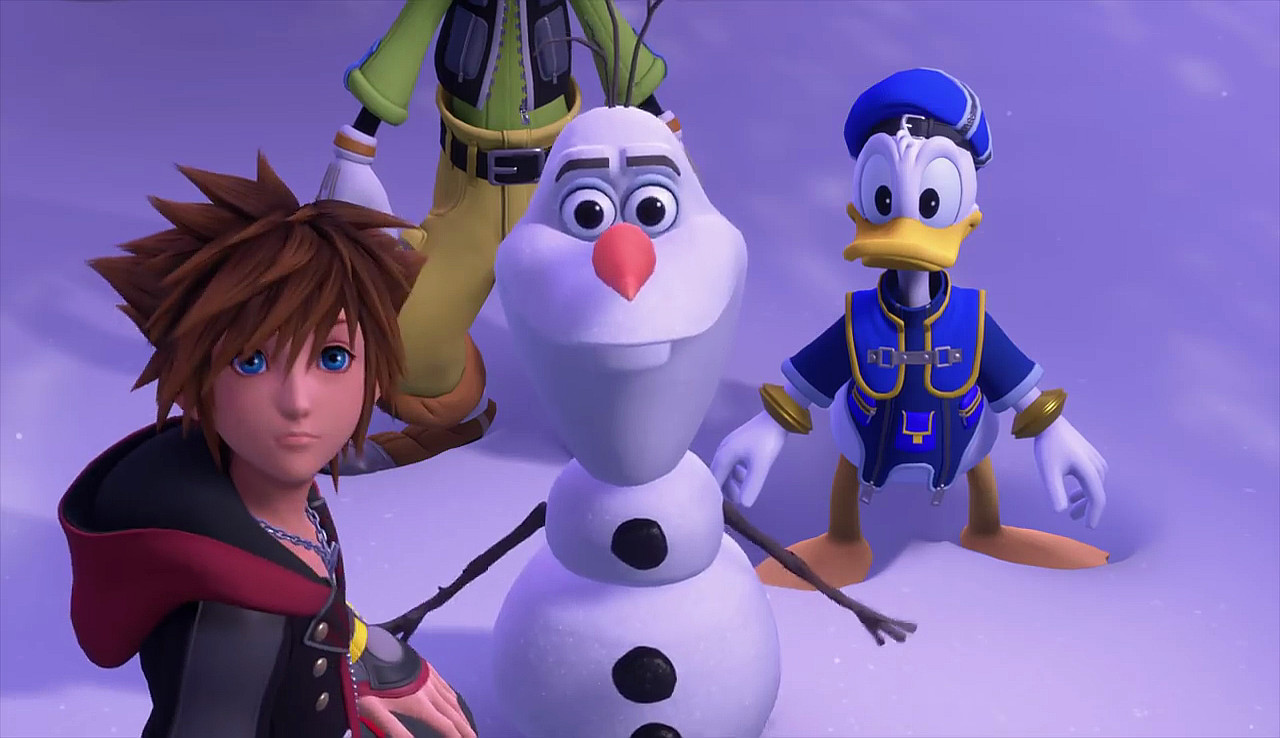 Il mondo di Frozen in Kingdom Hearts III