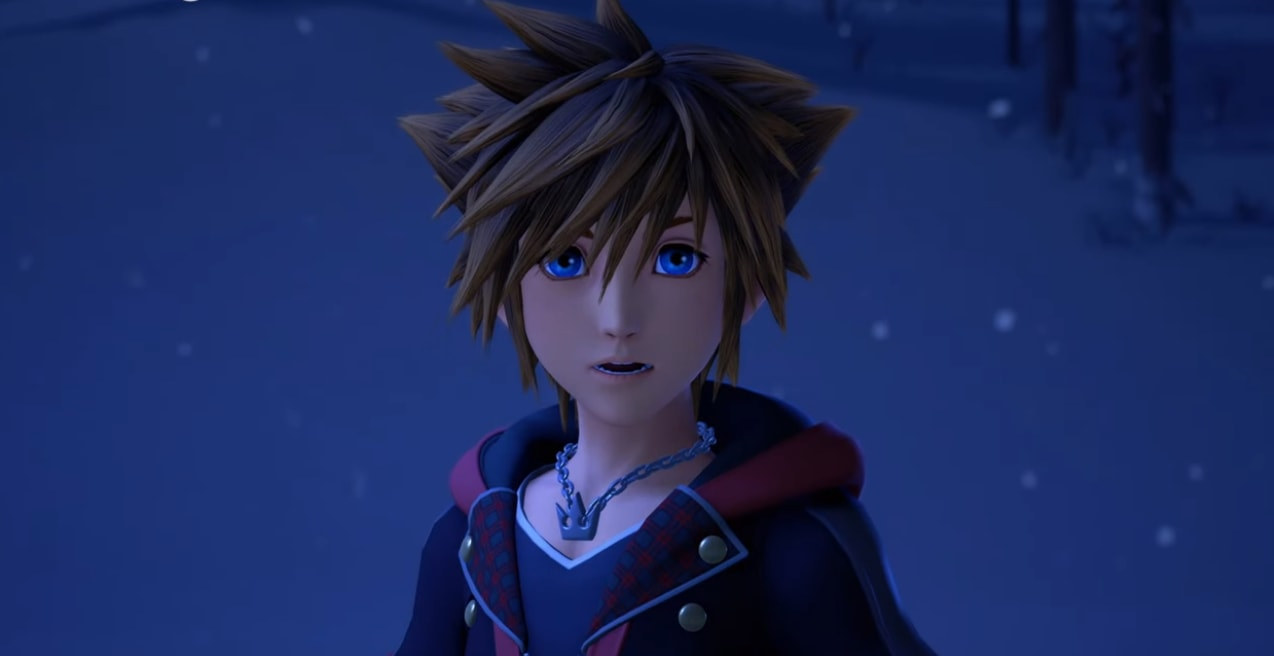 Sora nel mondo di Frozen in Kingdom Hearts III