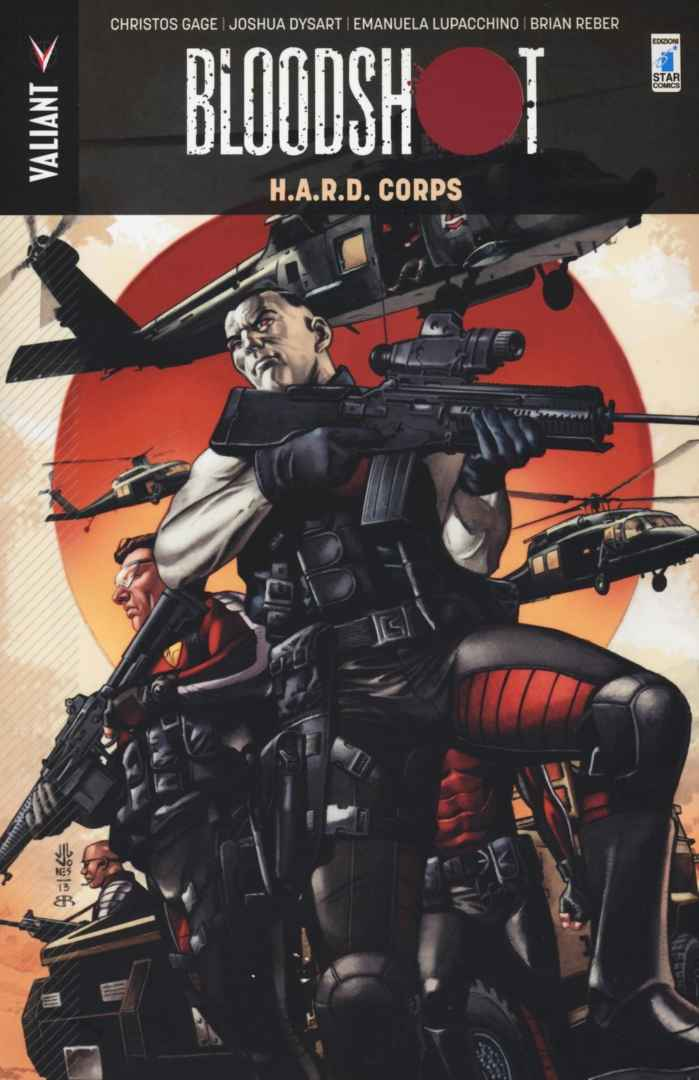 Bloodshot #4 H.A.R.D. Corps Book Cover
