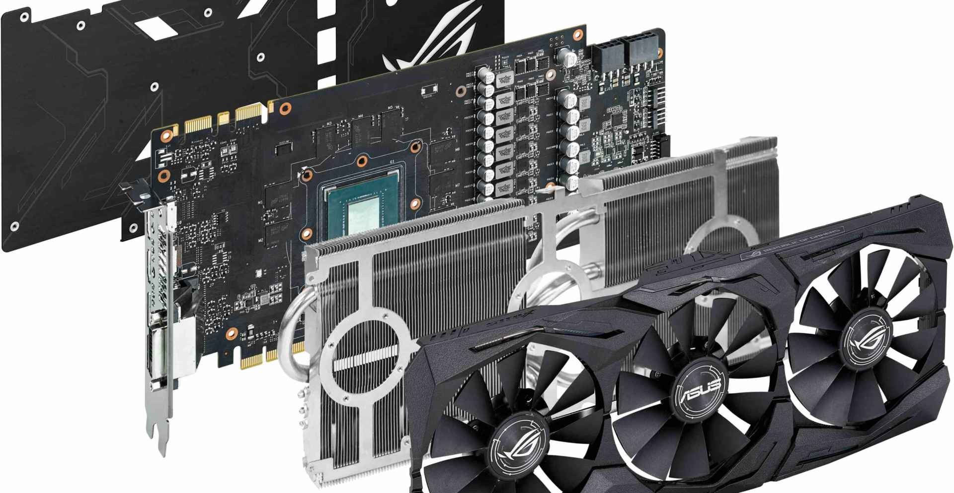 GeForce Rog Strix GTX1080 A8G Gaming