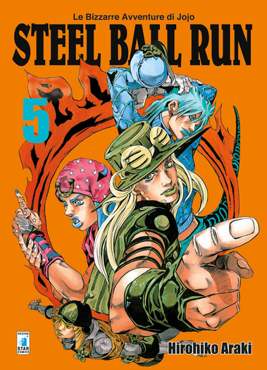 Steel Ball Run #4/5 Perfect Edition Book Cover