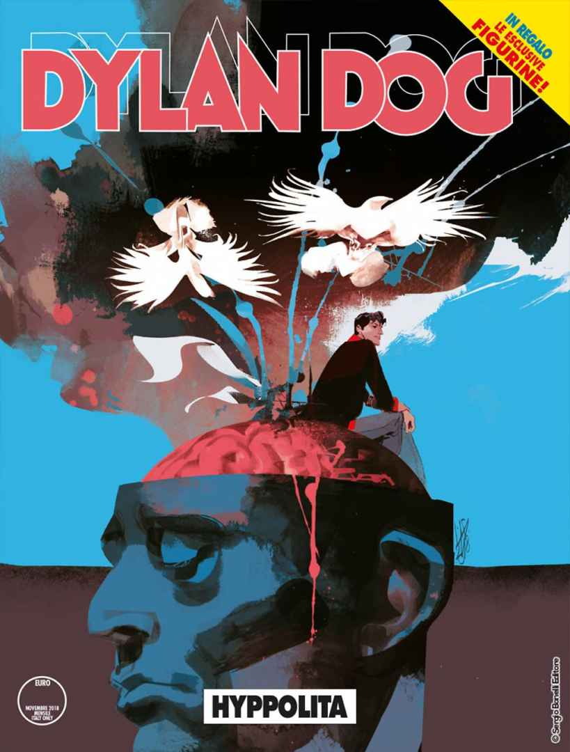 Dylan Dog 386: Hyppolita Book Cover