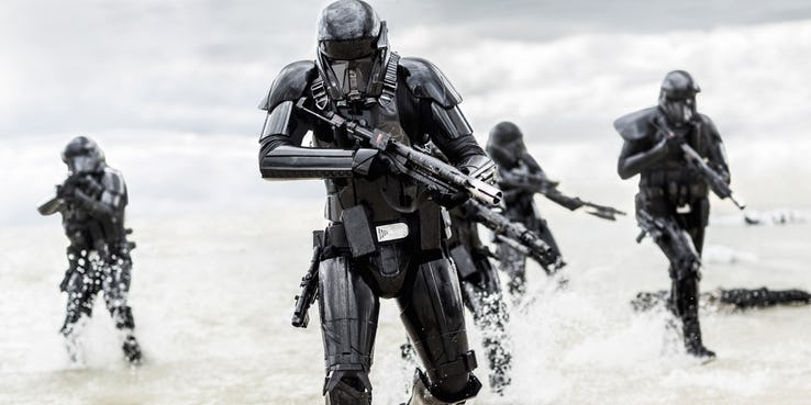 The Mandalorian Rogue One Death Troopers