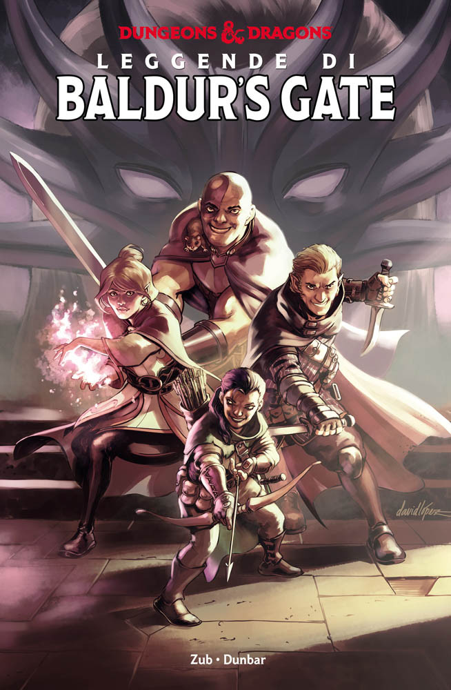 Dungeons & Dragons: Leggende di Baldur's Gate Book Cover