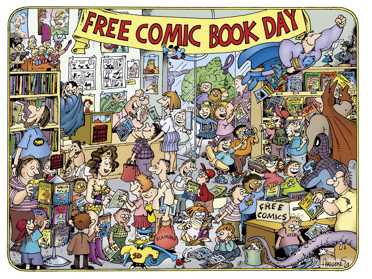 Il Free Comic Book Day torna il 3 dicembre in tutte le fumetterie aderenti