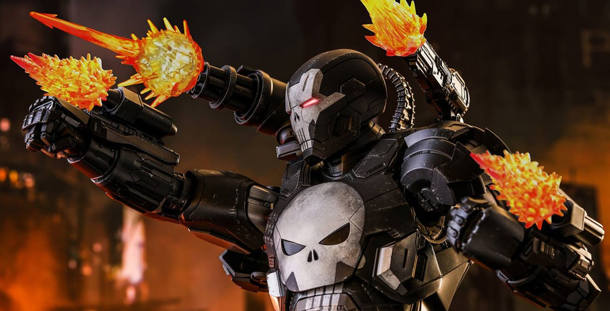 Marvel Future Flight Punisher (War Machine Armor)