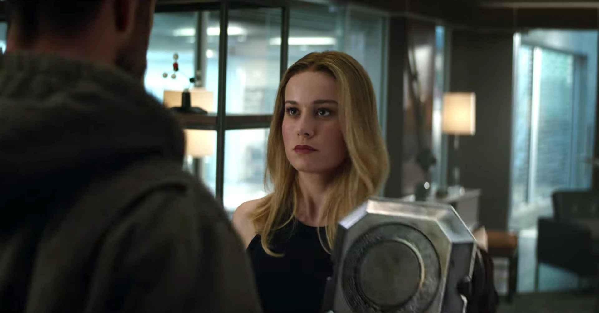 Avengers: Endgame Brie Larson