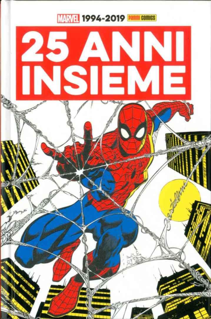 25 Anni di Panini e Marvel Book Cover