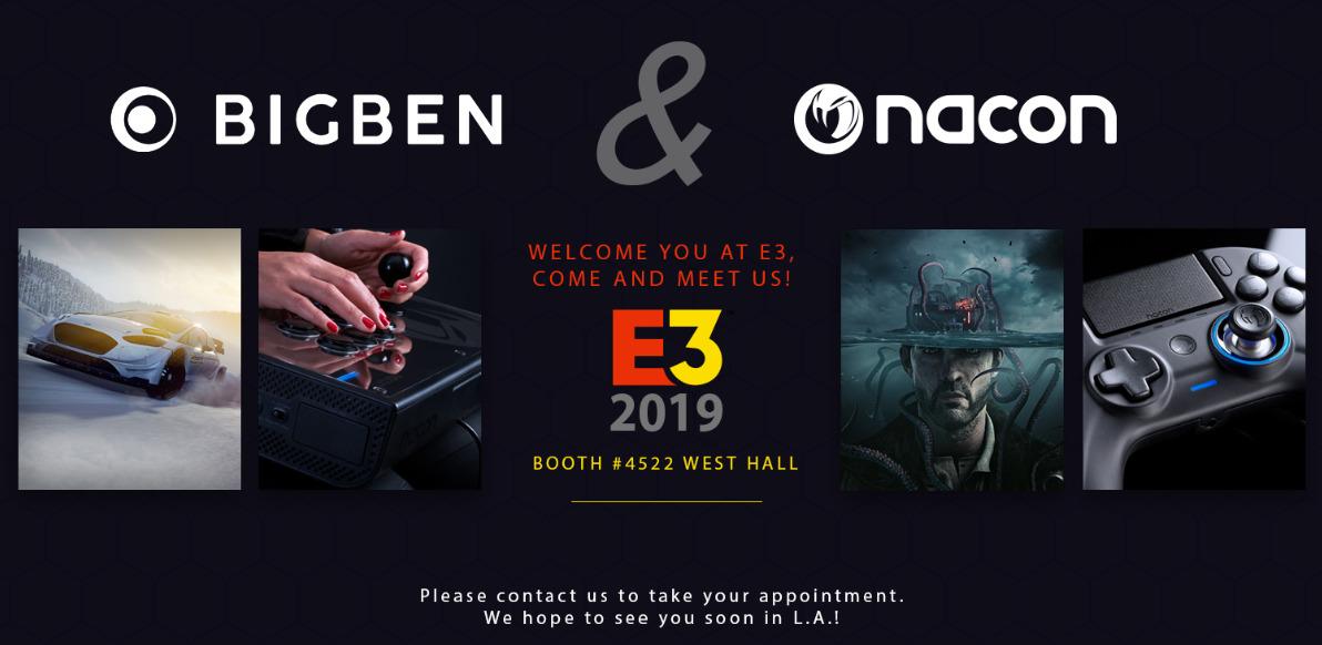 BigBen E3 2019 Nacon