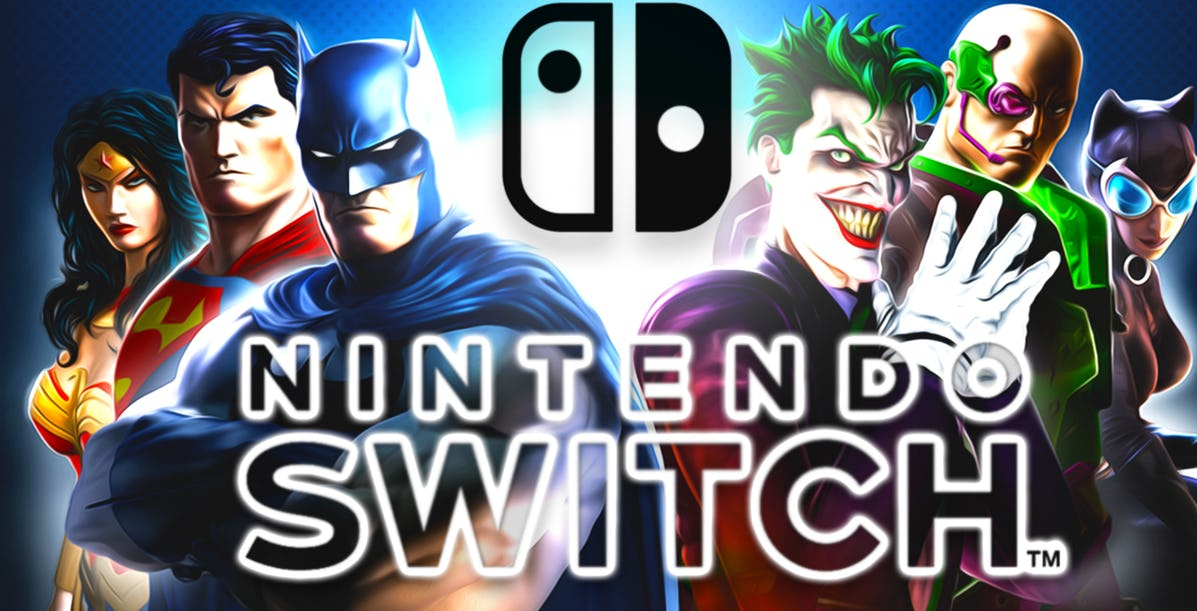 DC Universe Online Nintendo Switch Estate 2019