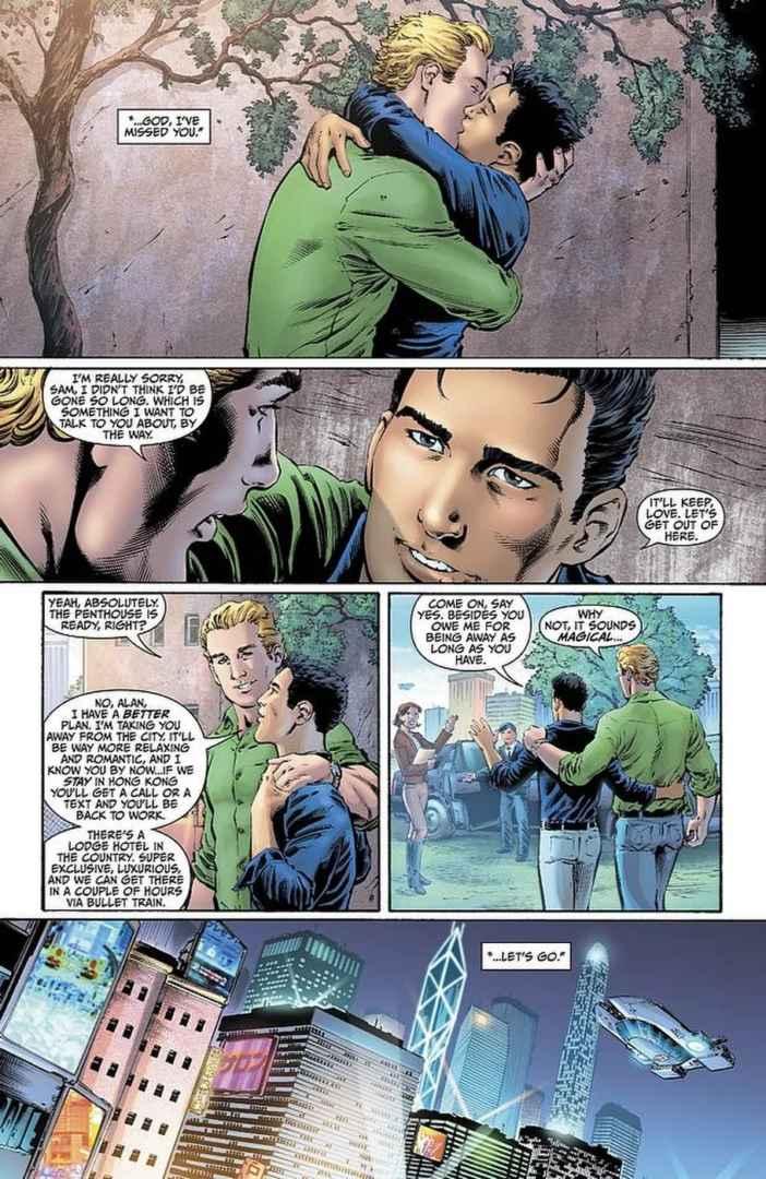 Marvel Comics #1000 Alan Scott DC Comics