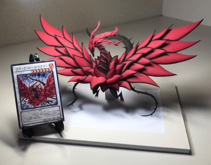 Yu-Gi-Oh Papercraft