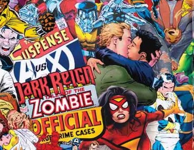 Marvel Comics #1000 Bacio DC