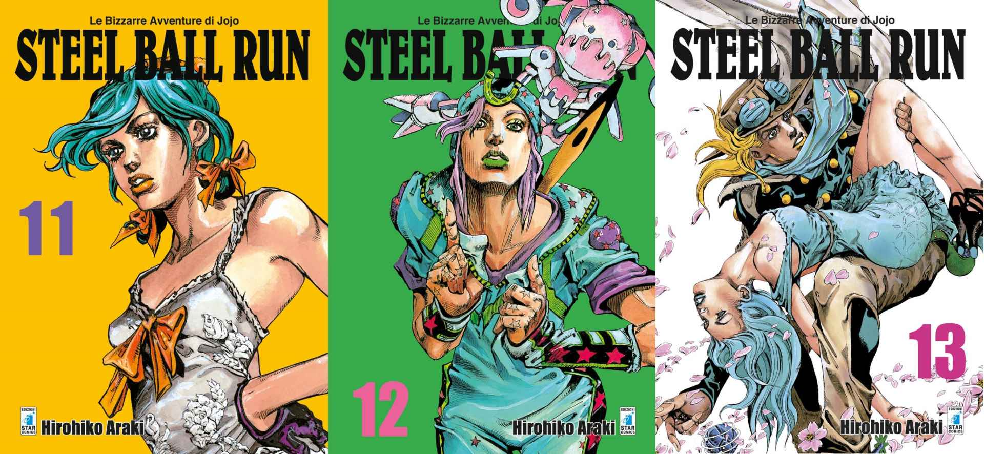 Steel Ball Run Book Cover