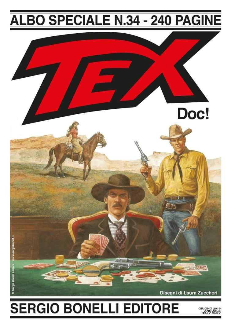 Tex Maxi #34 (Texone 34): Doc! Book Cover
