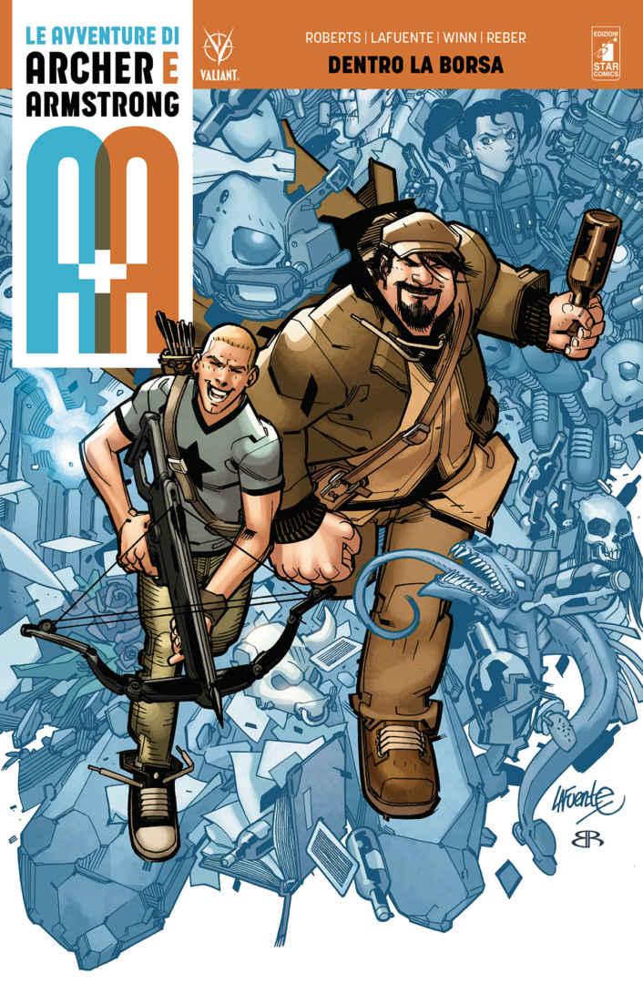 Le Avventure di Archer e Armstrong. Vol. 1: dentro La Borsa Book Cover