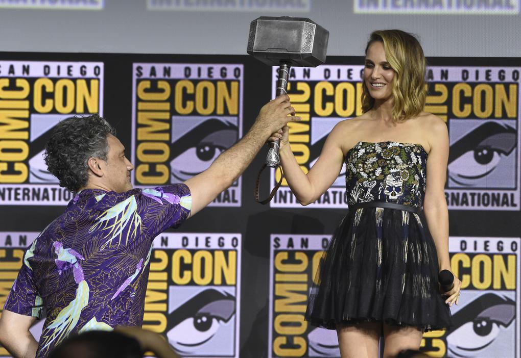 Natalie Portman Thor MCU Comic-Con