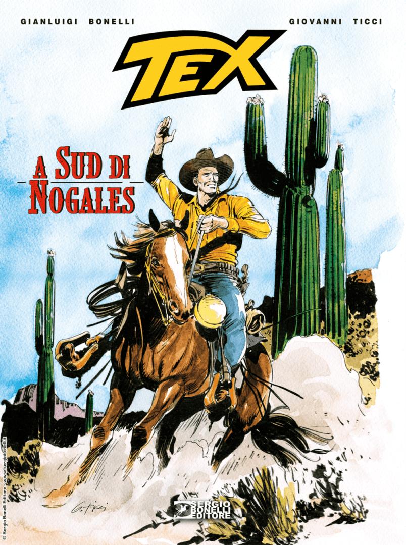 Tex – A Sud di Nogales Book Cover