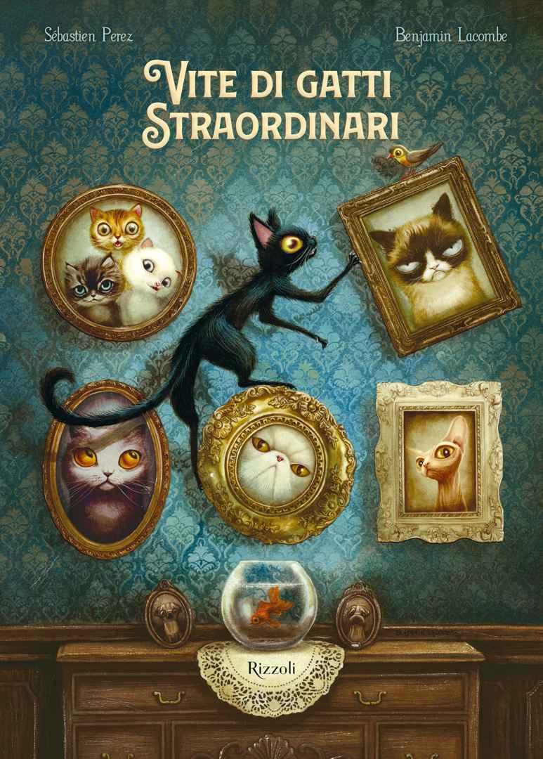Vite di gatti straordinari Book Cover