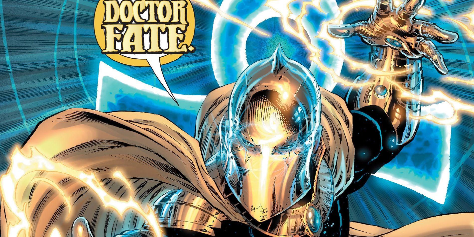 1 Doctor Fate è tra i membri della Justice League