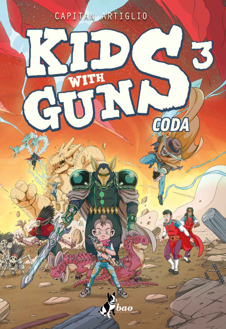 Kids With Guns Volume 3: Coda Book Cover