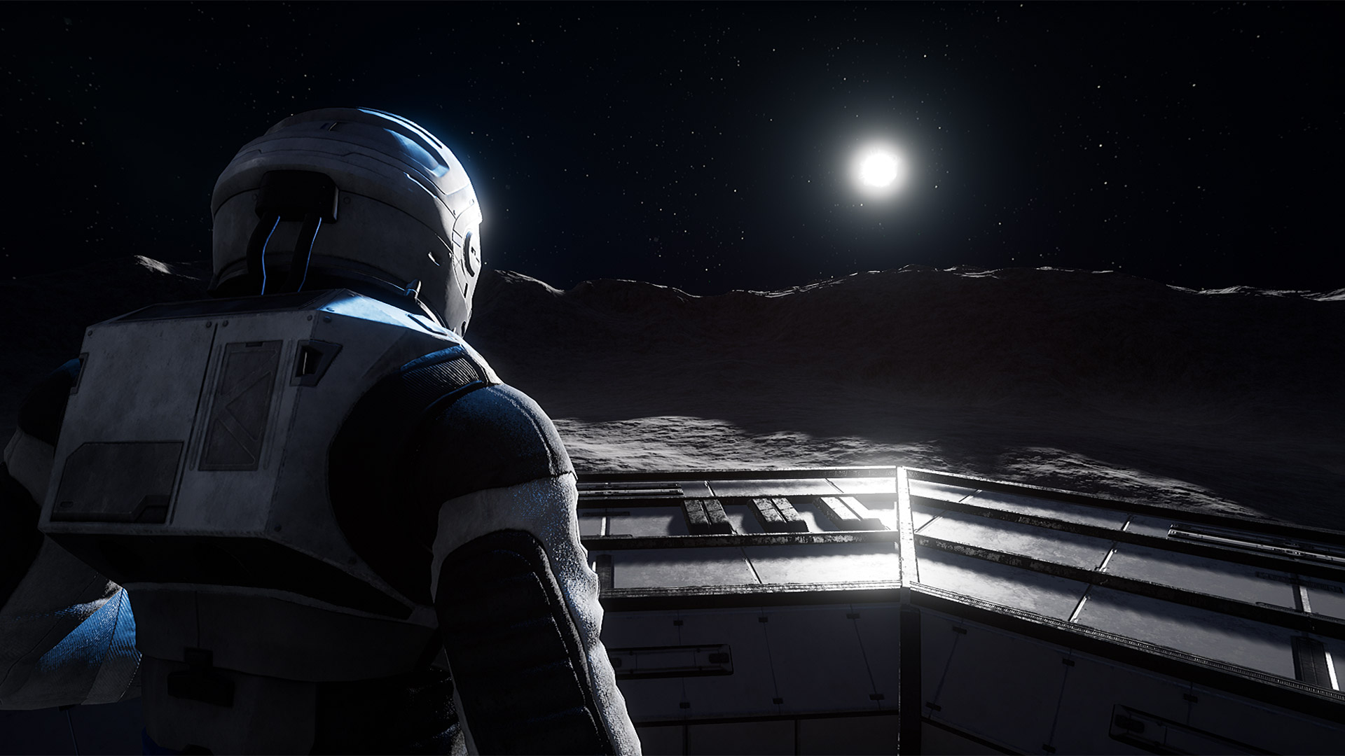 Spazio e un astronauto