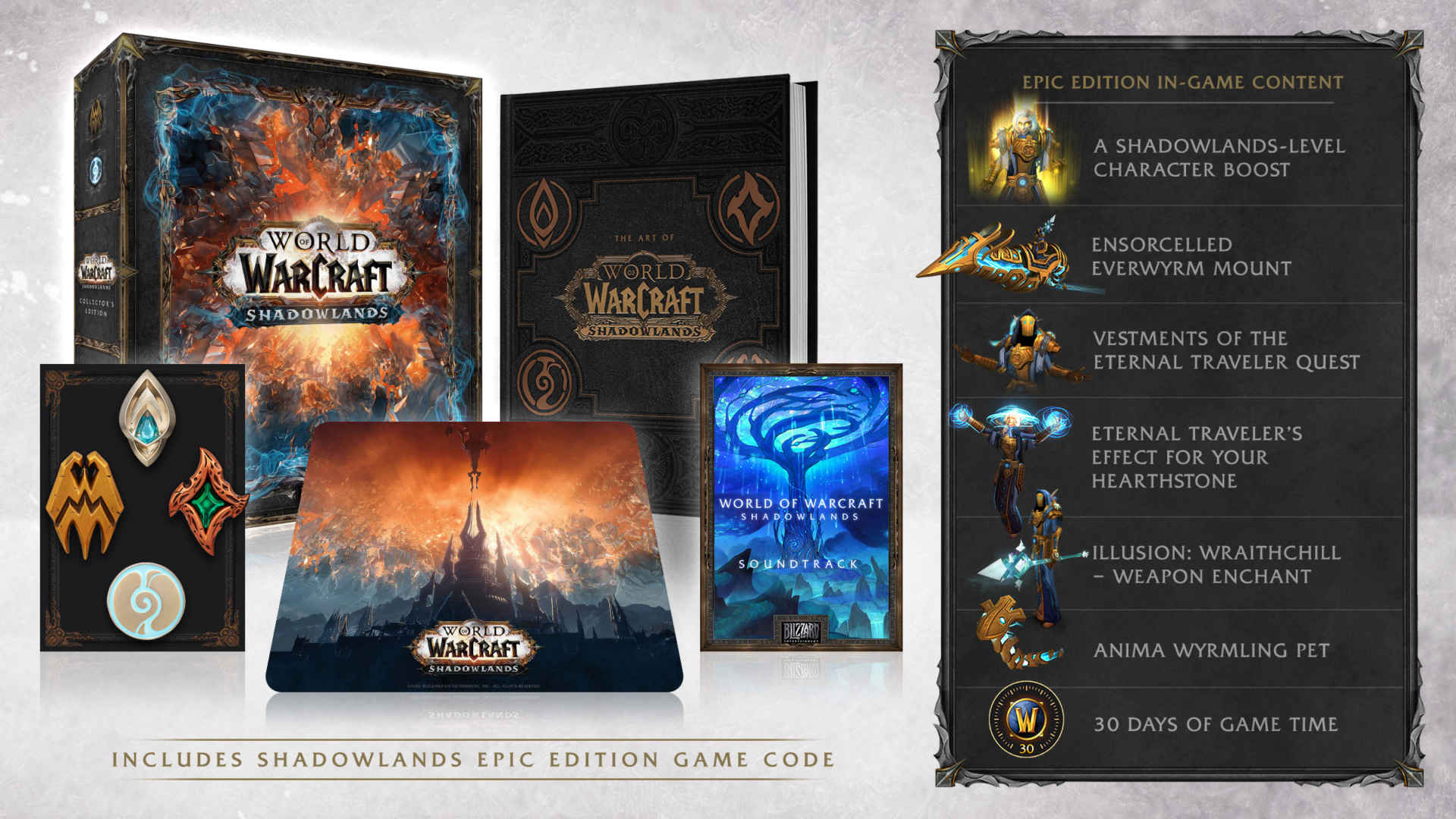 World of Warcraft: Shadowlands l'edizione da collezione