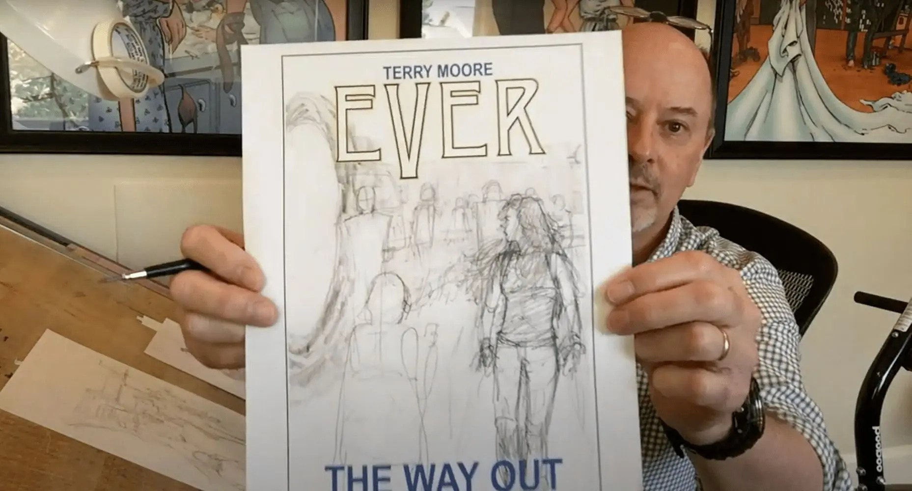 Terry moore annuncia Ever: The Way Out.