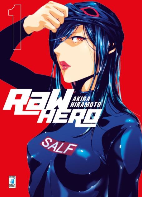 Raw Hero #1 Book Cover