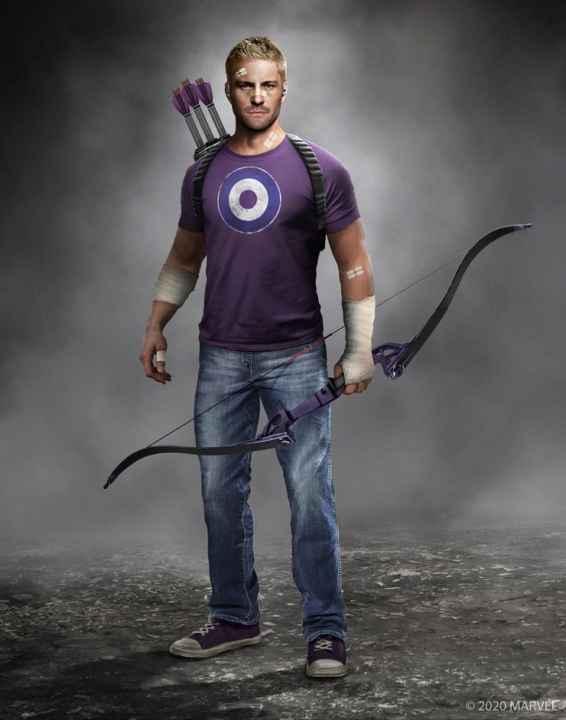 Marvel's Avengers Hawkeye Concept Art
