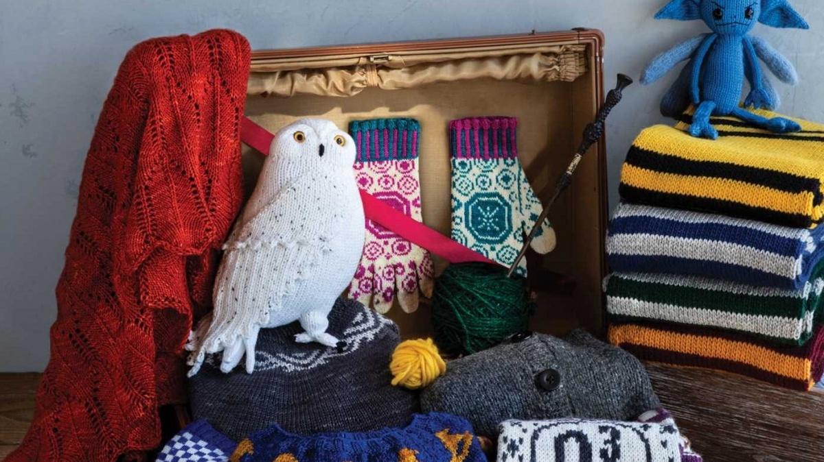 Panini Comics presenta Harry Potter La magia del Knitting, per diventare bravi come Hermione Granger