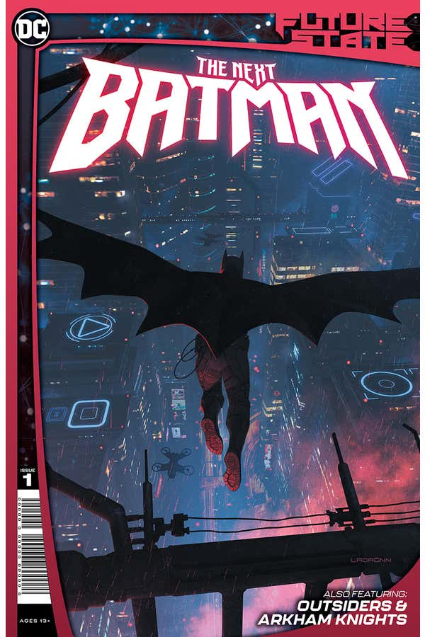 Future State: The Next Batman cover