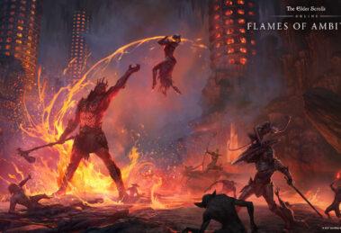 The Elder Scrolls Online: Flames of Ambition DLC Oblivion