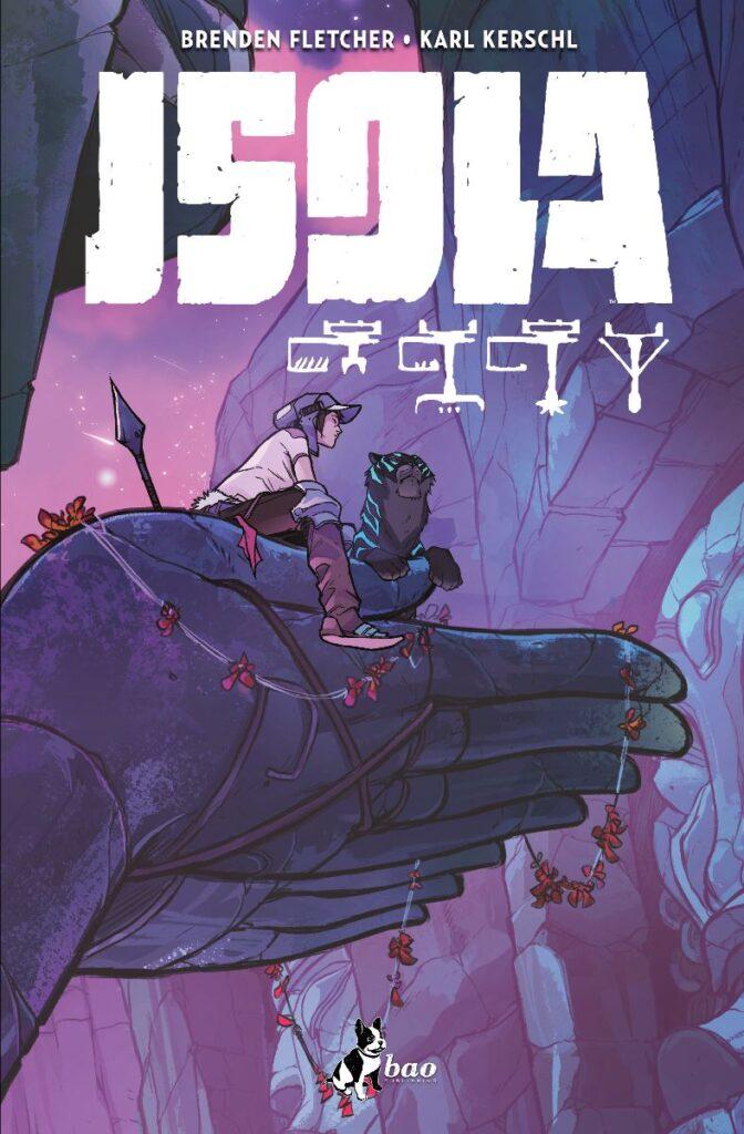 Cover di Isola vol. 2 edito da BAO HavocPoint