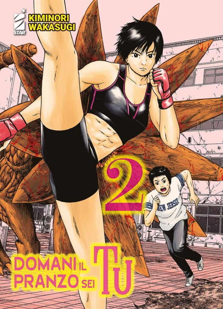 Cover del secondo volume di Domani il pranzo sei tu  HavocPoint