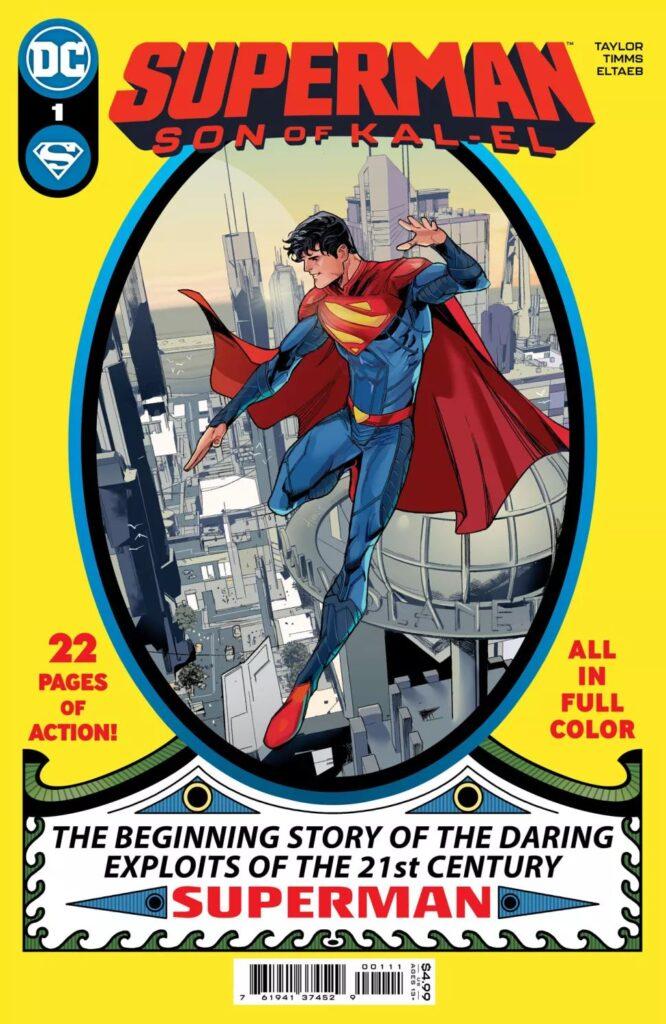 Cover di Superman: Son of Kal-El