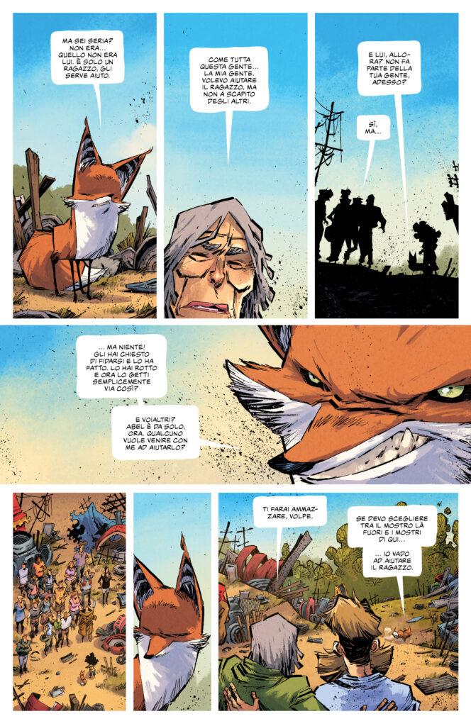 Middlewest 2 pagina 21 tavola havocpoint recensione