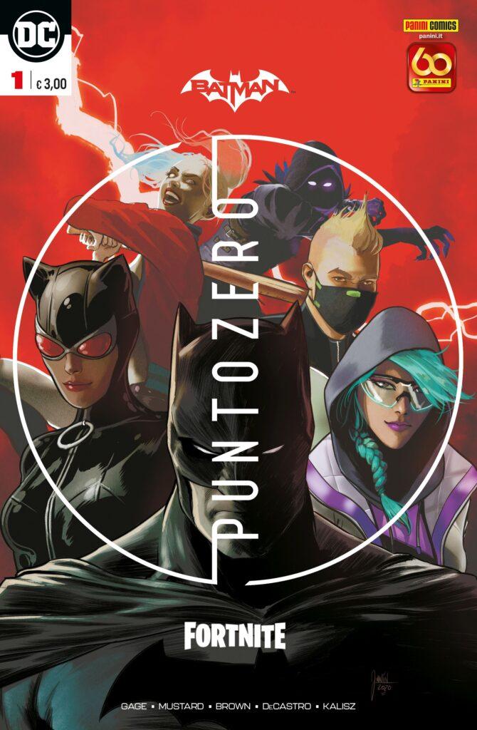 Cover del primo numero di Batman/Fortnite: Punto Zero HavocPoint