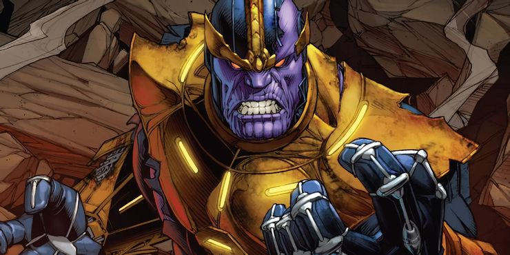 Thanos è uno dei villain Marvel più forti