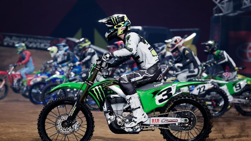 La partenza di Monster Energy Supercross: The Official Videogame 4