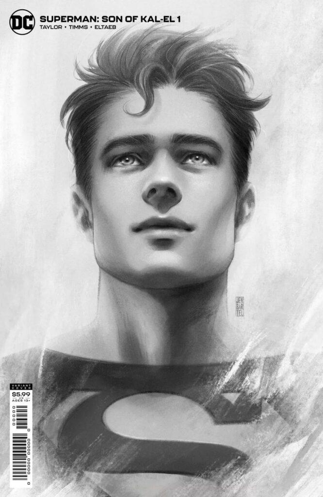 variant cover di Superman: Son of Kal-El