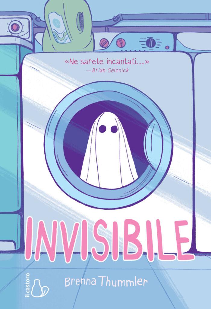Cover di Invisibile di Brenna Thummler