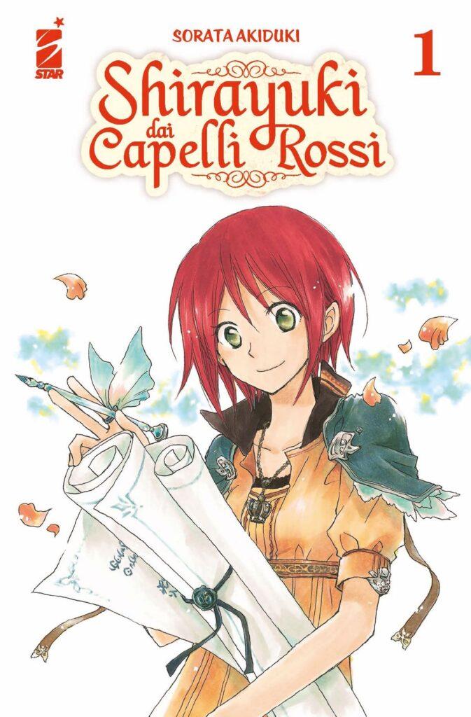 La cover di Shirayuki dai Capelli Rossi