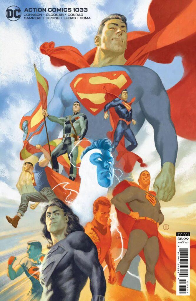 variant cover di Action Comics